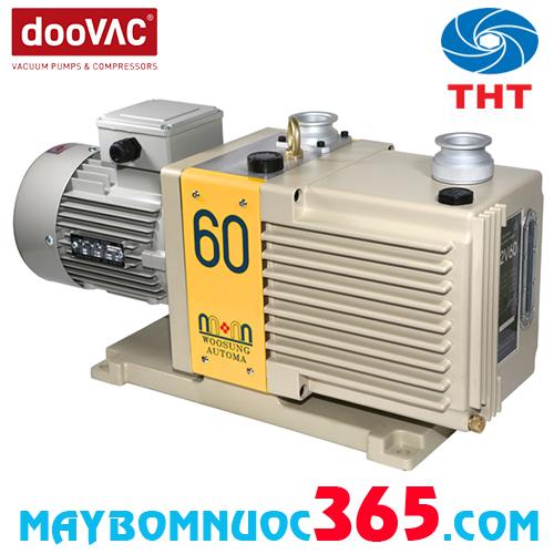 Máy bơm hút chân không vòng nước 1 cấp & 2 cấp DOOVAC W2V60 1.5KW