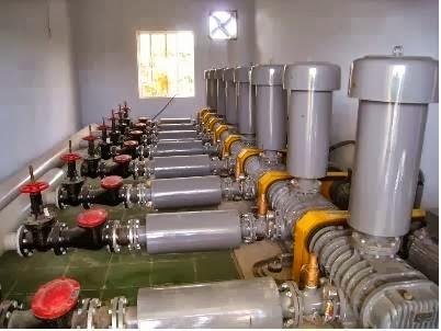 Công trình lắp đặt máy thổi khí Longtech
