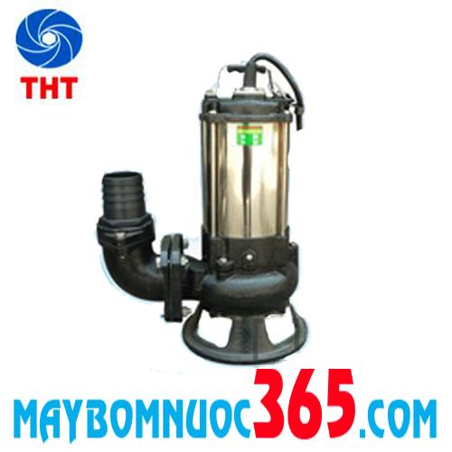 Máy bơm chìm hút bùn thân inox NTP HSF240-1.25 26
