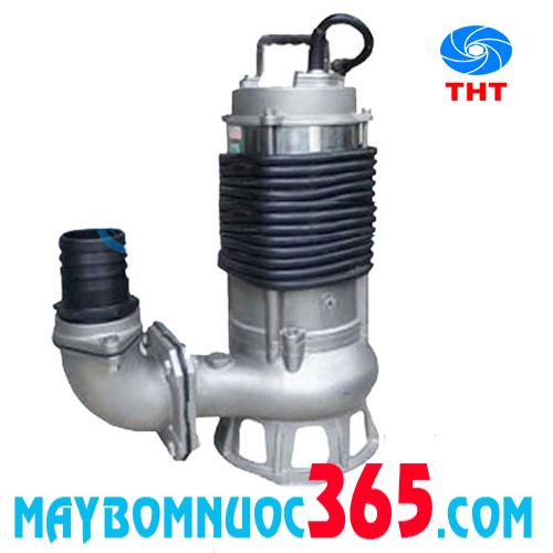 Máy bơm chìm hút bùn thân inox NTP SSM(F)250-1.75 20
