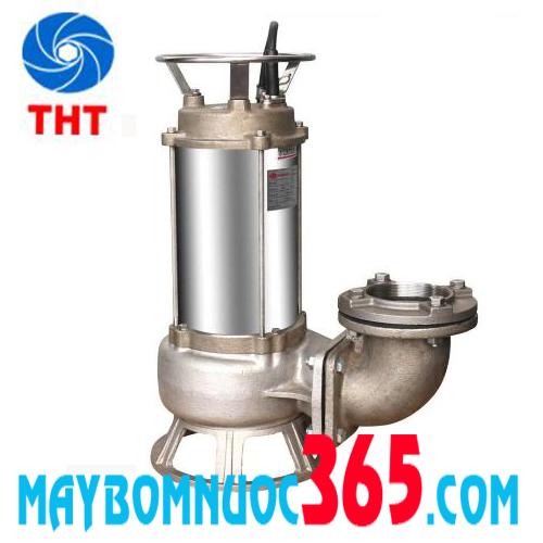 Máy bơm hóa chất loãng, hố móng cánh inox EVERGUSH EFS-50T 5 HP