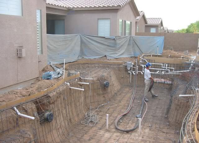 Công trình lắp đặt bơm hồ bơi Ewara