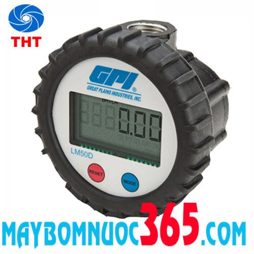 Đồng hồ đo xăng dầu điện tử GPI LM50DN