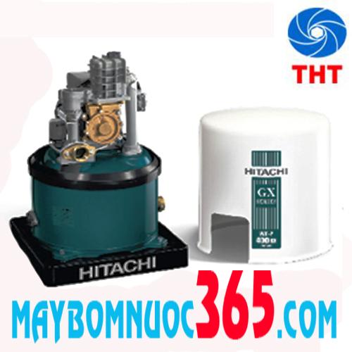 Máy bơm tăng áp lực nước tự động tròn Hitachi WT-P350GX2-SPV-MGN 350 W