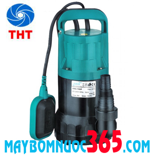 Máy bơm chìm nước thải bằng nhựa Lepono XKS-250P 0.3 HP