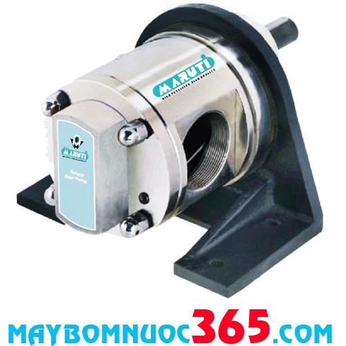 Đầu bơm bánh răng bằng inox 316 phốt cơ khí Maruti MESX-200-1 3HP