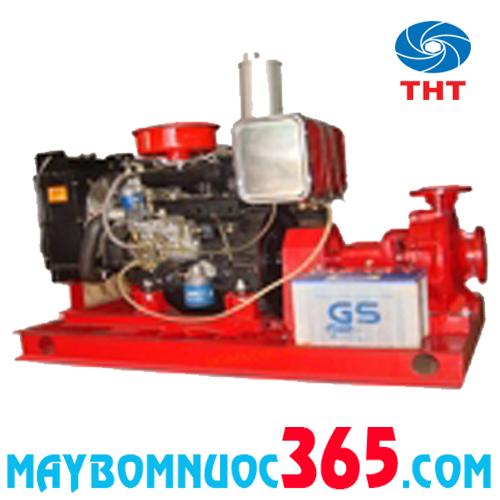 Bơm điện rời trục đầu bơm SPLIT CASE+động cơ Diezel HUYNDAI (Korea) NSC 125-80 100HP